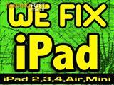 Fixing all Apple iPads - Screen Replacement - affordable price