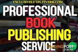 I will publish your book on createspace, ingramspark, lulu and kindle.