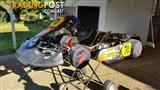 Go Kart, trailer and parts