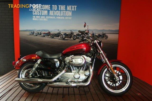 2018 Harley|Davidson XL883L Super LOW Wicked Red/Twisted Cherry for ...