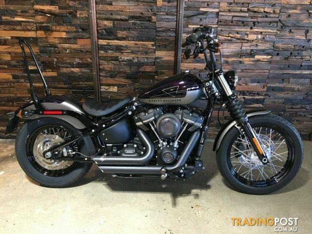 2018 harley davidson fxbb street bob vivid black for sale. Black Bedroom Furniture Sets. Home Design Ideas
