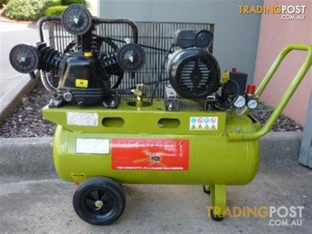 Air Compressor 3 Hp Electric Motor Belt Drive Acb 3050 For