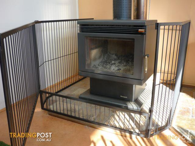 Steel Child Safety Guard Fire Screen With Gate B New For Sale In Hallam Vic Steel Child