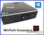 HP Elite 8000 Quad Core Desktop Computer