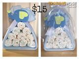 """Baby Shower Gifts/ Nappy Cakes"""