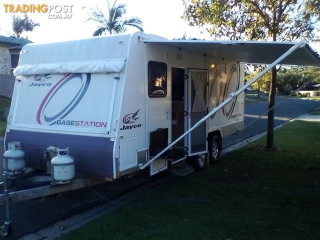 2008 Jayco Basestation Outback