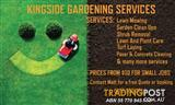 KINGSIDE GARDENING SERVICES
