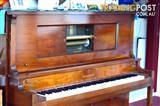 Gulbransen Pianola with stool and pianola rolls.