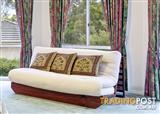 Double Bed Futon Sofa Bed with timber frame