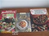 3 Cook Books Excellent Condition