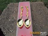 Gold Plated Opal Encrusted Native Wildlife*Free Postage