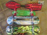 Ripstick And 3 Skateboards Excellent Condtion