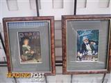 Tortoise Shell Framed Pears Prints Excellent Condition