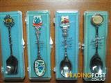 Collectable Spoons Various Qty 4 As New Condition