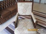 Edwardian Chair Italian Tapestry Excellent Condition