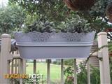 Brand New Metal Planter Boxes Qty 2