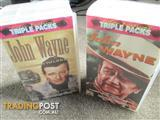 John Wayne Double Triple Pack As New Never Played Very Rare