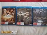 DEADWOOD ULTIMATE COLLECTION SEASONS 1-3 BLUE RAY 9 DISC SET