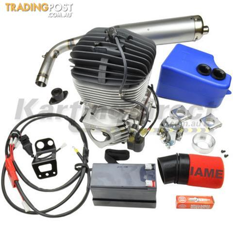 Go kart iame ka100 tag engine kit iame reed jet all for Motor go kart for sale