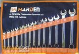 Harden Metric 14 piece Combo Spanner Set in a Tool Roll. @ Moolap