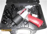 "Useful 1/2"" Air Impact Gun Kit in Plastic Case, $10 off Normal Price!"