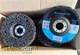 Excellent Clean and Strip Disks by Jingle. Black 100 x 16 x 16 units in box.