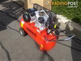 Red Colour Owen Air Compressor V-Twin 2HP motor/70L tank + Free Hose Kit