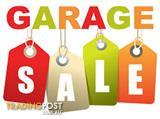 MASSIVE Garage Sale . Saturday 29/04/2017