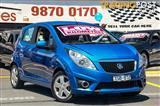 2010 HOLDEN BARINA SPARK CD MJ 5D HATCHBACK