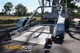 G LOADER FLATBED TRAILER GROUND LOADING NO RAMPS REQUIRED