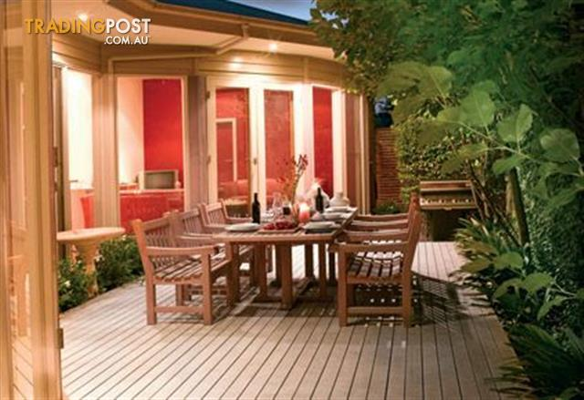 Composite decking for sale in moorooka qld composite decking for Garden decking for sale