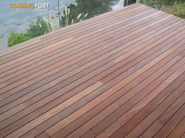 Hardwood decking for sale in moorooka qld hardwood decking for Garden decking for sale