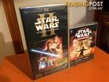 STAR WARS COLLECTABLE VHS & CASSETTE BOOK