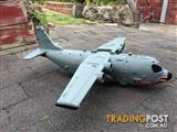 MASSIVE TOY MILITARY PLANE WITH DETACHABLE WINGS