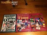 3 X AUSTRALIA THROUGH TIME BOOKS $20 FOR ALL 3