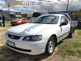 2005 FORD FALCON XLS BA MKII C/CHAS