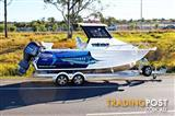 Quintrex 610 Trident Hard Top 2016 model now For sale