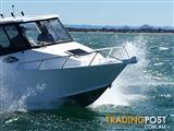 QUINTREX 7400 YELLOWFIN CABIN HARDTOP F200HP PACKAGE