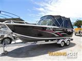 Quintrex 610 Freedom Cruiser 220 Hp Stern Drive