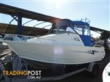 USED 2015 STACER 509 SEARUNNER CUDDY CAB WITH YAMAHA 115 FOURSTROKE FOR SALE