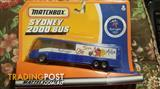 SYDNEY 2000 OLYMPIC GAMES OFFICIAL BUS AUTHENTIC BY MATTEL USA