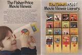 1973 Fisher Price Movie Viewer + Disney cartridge