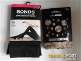 Bonds stretchy tights / footless tights