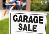 Garage Sale Saturday 23rd September- Bulimba  7.30-11.30AM (no earlybirds...sorry)