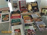 Variety of cookery books