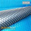 Isothermal Solar Swimming Pool Cover Bubble Blanket 10.5m X 4.2m
