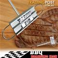 BBQ Branding Iron Changeable Letters Grilling Restaurant Kitchen Steak Tools