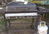 5 BURNER BBQ-FREE GAS BUTTEL
