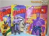RARE LEE FALK PHANTOM STATUE FIGURE PLUS 4 COMICS
