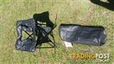 Never Used OZTRAIL Folding Toilet Chair
